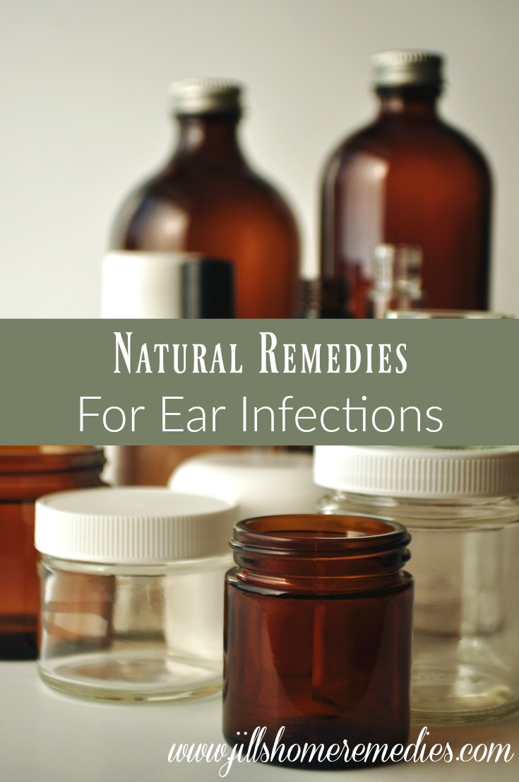 Natural Remedies for Ear Infections | Jills Home Remedies | Ear infections can be so painful, and children especially suffer from them! Here's how you can naturally treat them at home.