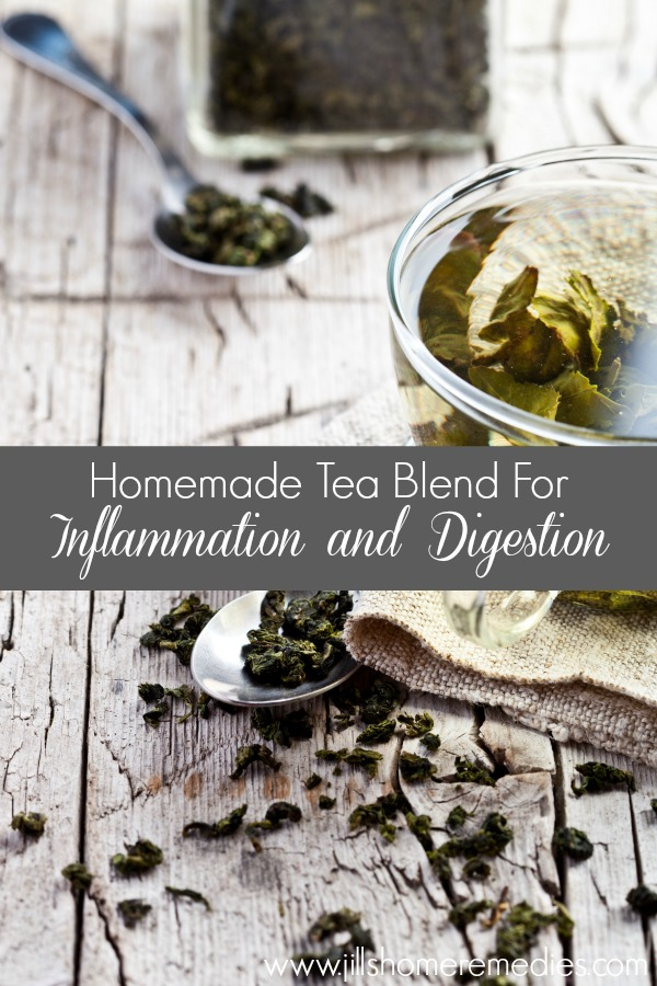 Homemade Tea Blend for Inflammation and Digestion