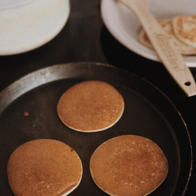 Red Clover Pancakes