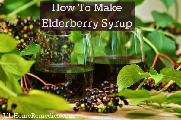 Learn how to make elderberry syrup to fight the flu, boost the immune system, and more!