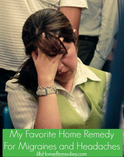 My Favorite Home Remedy for Migraines/Headaches