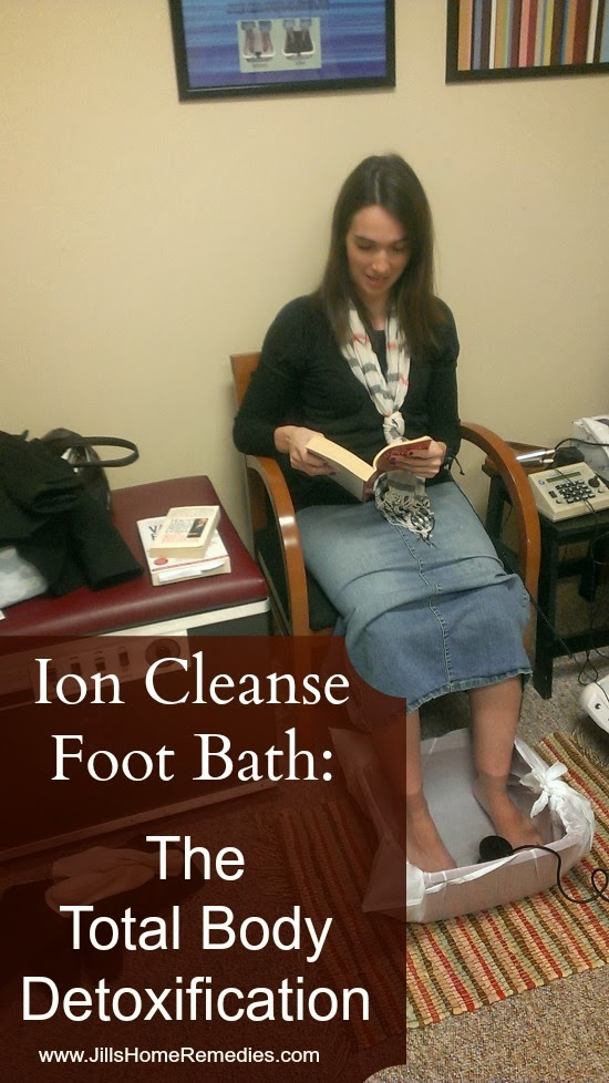 Ion Cleanse Foot Bath: The Total Body Detoxification