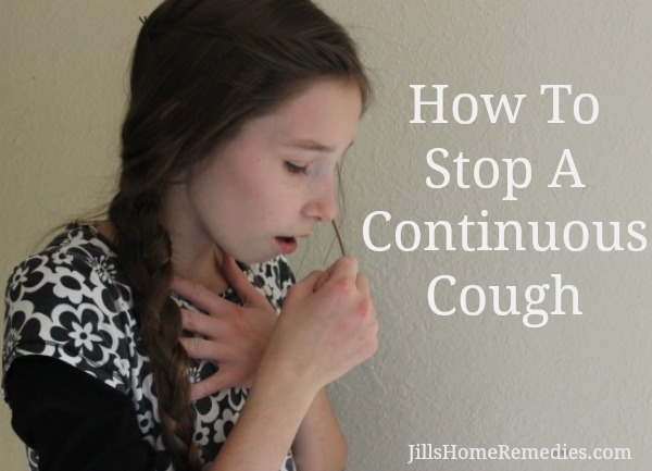 How To Stop A Continuous Cough