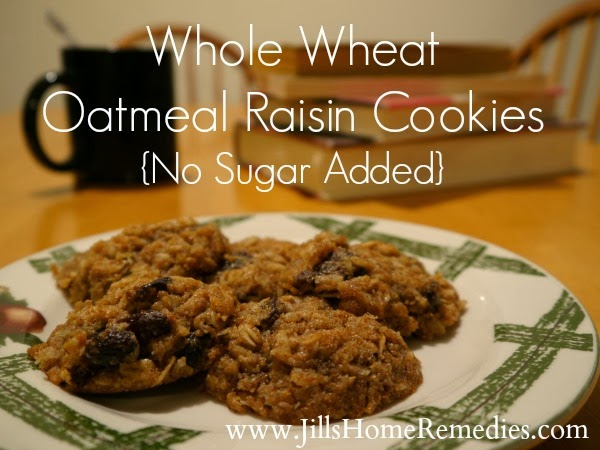 Whole Wheat Oatmeal Raisin