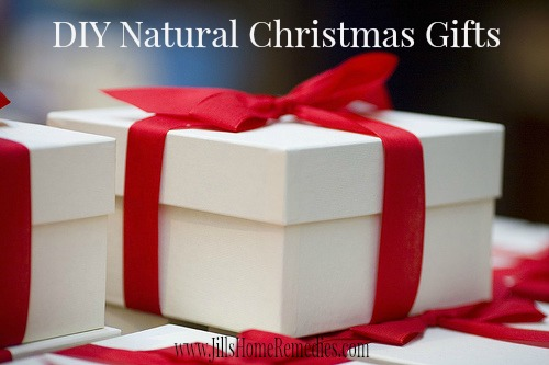 DIY Natural Christmas Gifts
