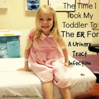 The Time I Took My Toddler To The ER For A Urinary Tract Infection