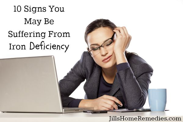 10 Signs You May Be Suffering From Iron Deficiency