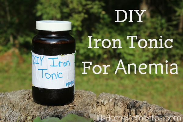 DIY Iron Tonic For Anemia