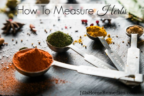 Measure Herbs