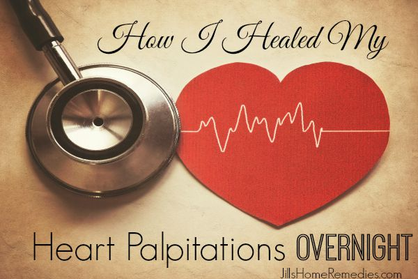 How I Healed My Heart Palpitations Overnight