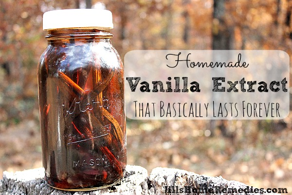 How To Make Vanilla Extract That Basically Lasts Forever