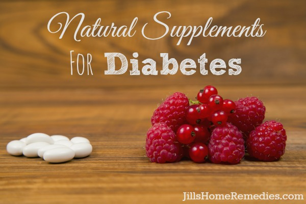 Natural Supplements for Diabetes