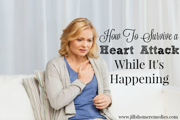 How To Survive A Heart Attack While It's Happening | Jill's Home Remedies | Learn how you can stop a heart attack in 60 seconds with this amazing herb!
