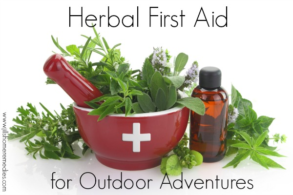 Herbal First Aid for Outdoor Adventures | Jill's Home Remedies | Outdoor adventures are a favorite part of summer. Be prepared with these 6 herbs you can use for herbal first aid.