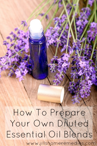 How To Prepare Your Own Diluted Essential Oil Blends