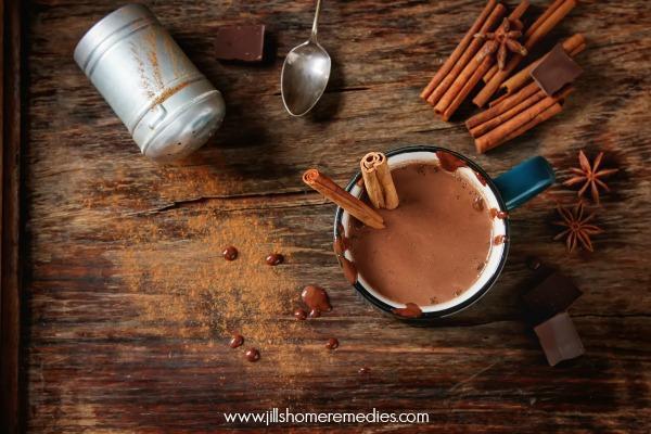 Homemade Dandelion Root Hot Chocolate