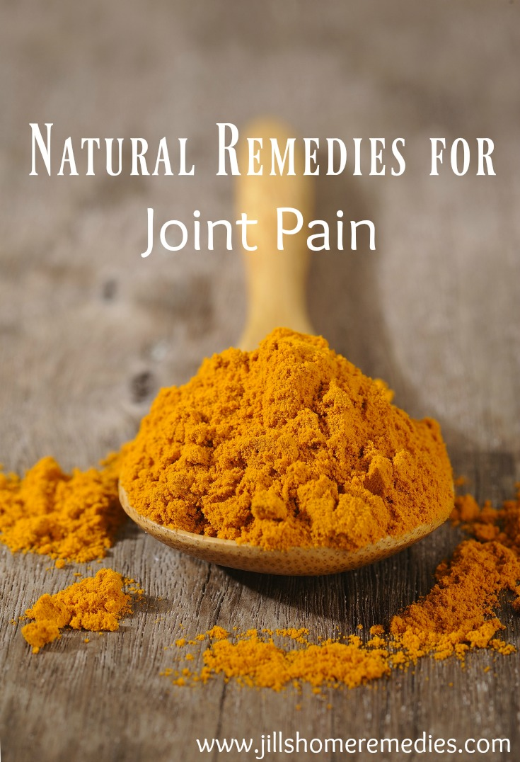 Natural Remedies for Joint Pain | Jills Home Remedies | Do you suffer from joint pain? Here are some natural remedies to help you find relief!