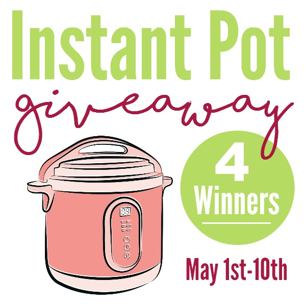 Instant Pot Giveaway for Mother's Day!