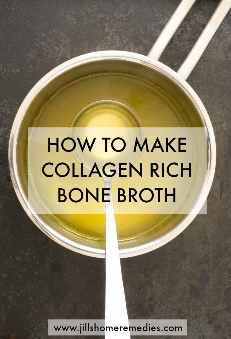 How To Make Collagen-Rich Bone Broth | Jills Home Remedies | Today I'm going to teach you how to not just make any bone broth, but collagen rich bone broth!