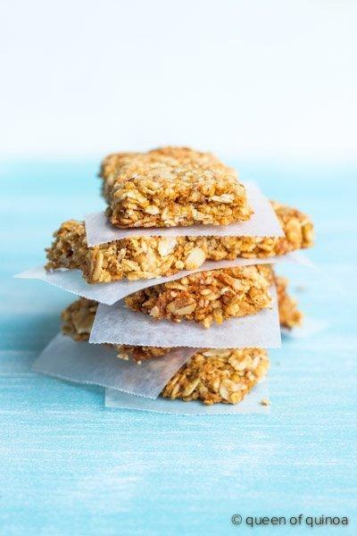 Crispy-Quinoa-Granola-Bars