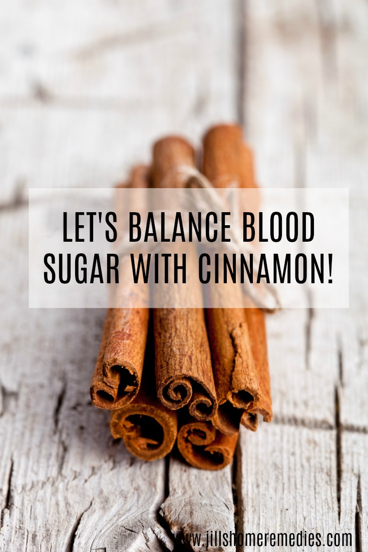 Let's Balance Blood Sugar With Cinnamon!