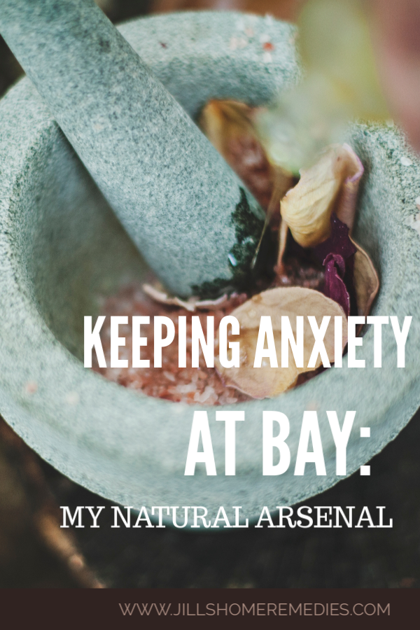 Do you deal with anxiety, heart palpitations, or panic attacks? Here are natural ways at keeping anxiety at bay so you can get through your day!