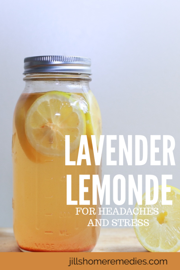 Lavender Lemonade for Headaches and Stress