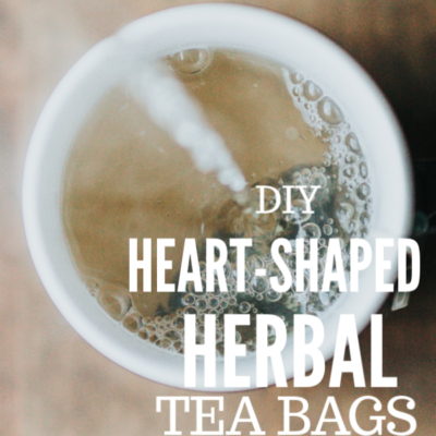 DIY Heart-Shaped Herbal Tea Bags