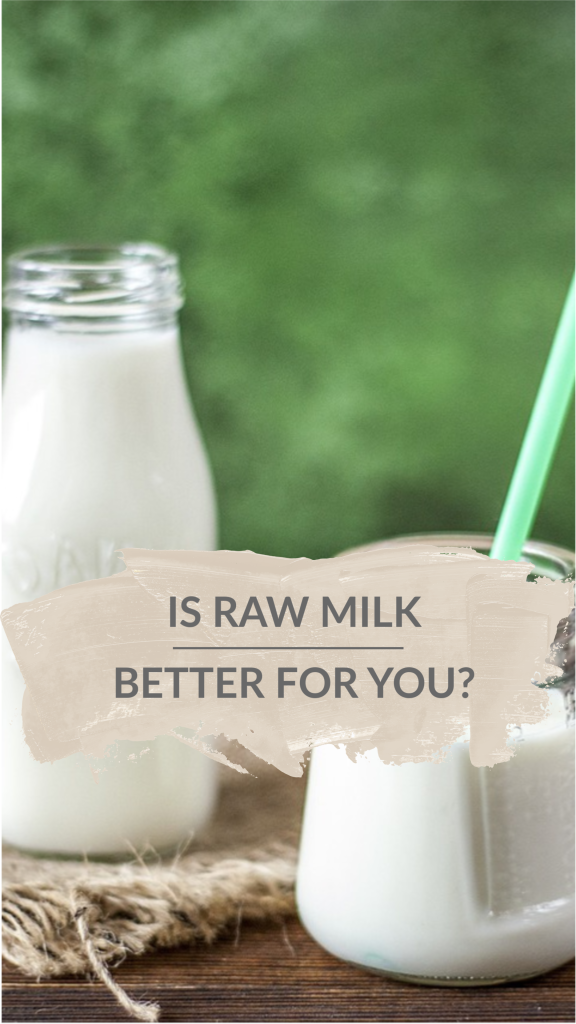Is raw milk better for you? There is an assumption by the general public that pasteurized milk is safer than raw milk. Let's explore this subject together!