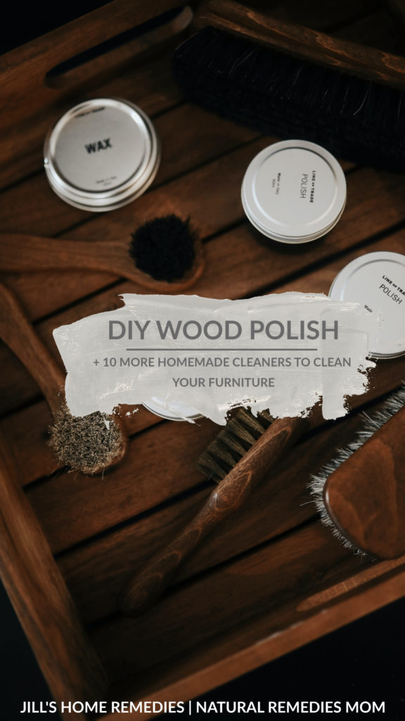 Why clean with chemically fragrant cleaners that can contribute to health problems when you can clean with real stuff? Here's some great wood polish recipes!