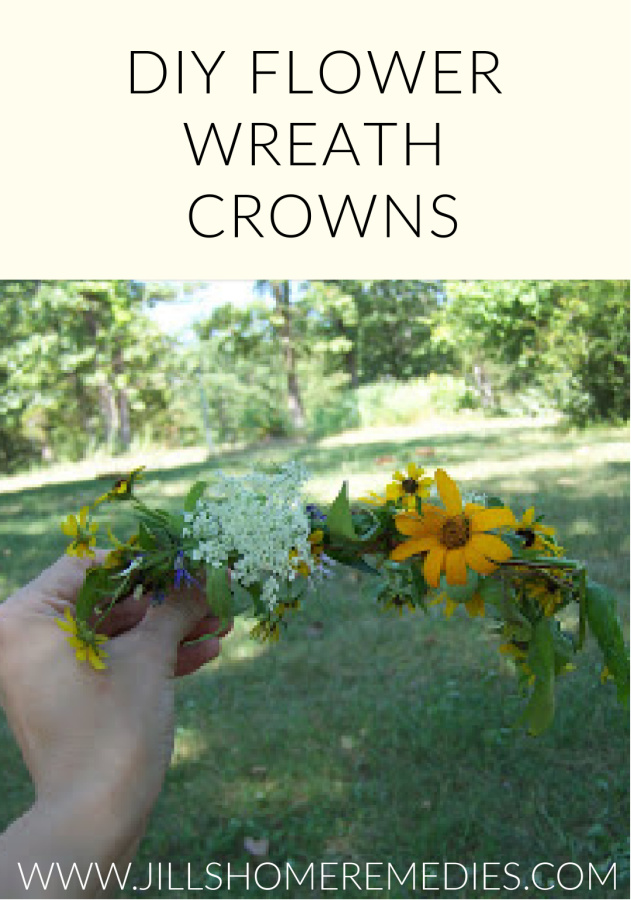 These DIY flower wreath crowns are an educational and fun way to be creative with plants!