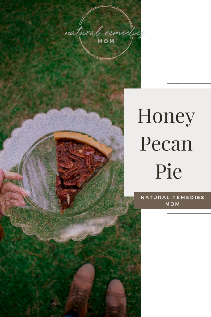 If you'd like to skip unhealthy corn syrup, try this homemade pecan pie sweetened with honey instead!
